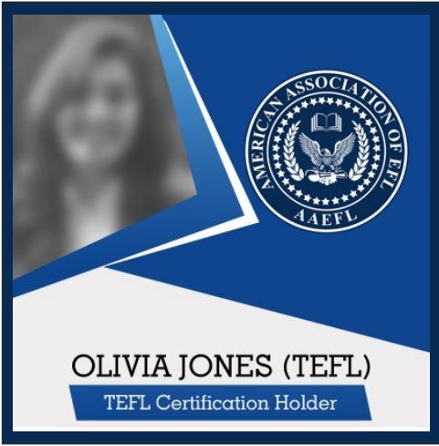 TEFL Sample Certificate